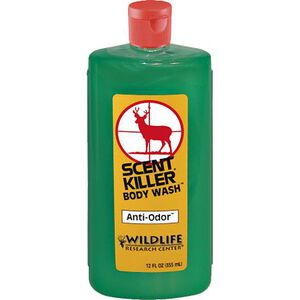 Wildlife Research Scent Killer Body Wash and Shampoo 12 fl. oz. Squirt Bottle