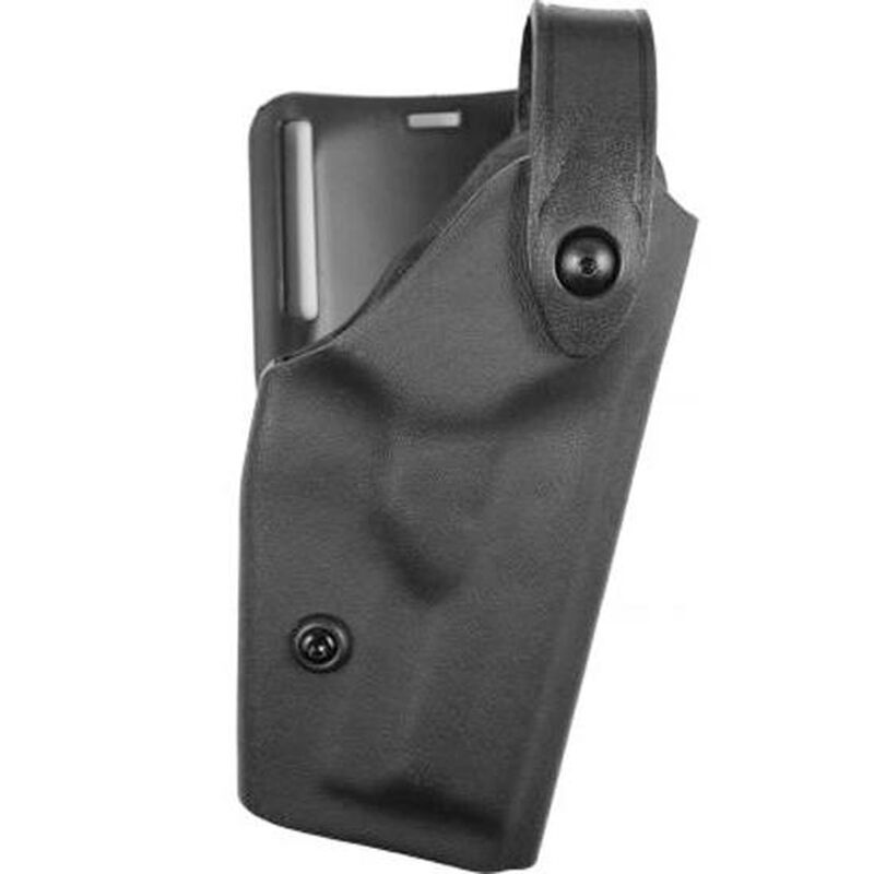 """Safariland 6280 SLS Level II Retention Duty Holster Mid Ride Right Hand Springfield Operator 1911-A1 with Rail and ITI M3/M6, 5"""" Barrel STX Tactical Black 6280-5621-131"""