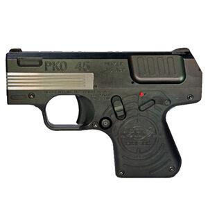 "Heizer Defense PKO-45 .45 ACP Semi Auto Pistol 2.75"" Barrel 7 Rounds Fixed 3-Dot  Sights Stainless Steel Jet Black Finish"