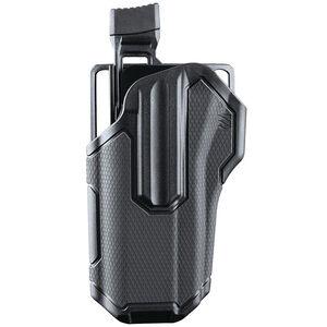 BLACKHAWK! Omnivore Multi fit Holster for Most Handguns with Rails Left Hand Level 2 Retention Black