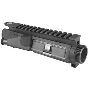 VLTOR Weapon Systems MUR Modular Upper Receiver AR-15 with Forward Assist/Shell Deflector Flat Top Forged 7075 Aluminum Black MUR-1A
