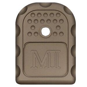 Midwest Industries GLOCK Magazine Floor Plate 6061 Aluminum Anodized Finish Flat Dark Earth