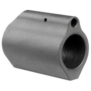 "Midwest Industries AR-15 Low Profile Gas Block .750"" Diameter 4140 Steel Matte Black Finish"