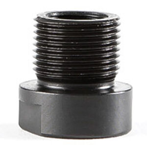 """Dead Air Armament Thread Adapter Converts the SIG Mosquito To 1/2"""" x 28 RH Steel Matte Black"""