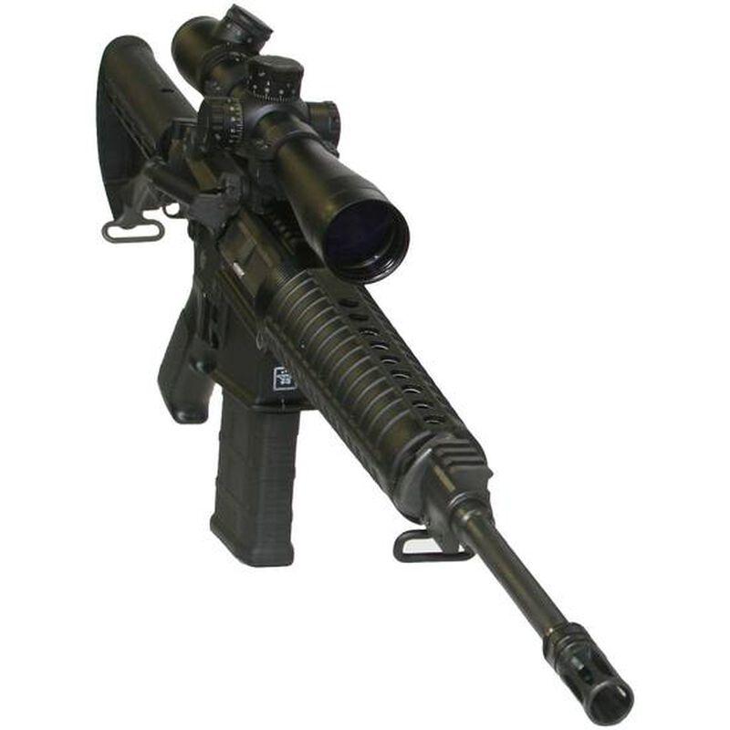 """ArmaLite Defender 10 Semi Auto Rifle .308 Win/7.62 NATO 16"""" Barrel 20 Rounds Polymer Hand Guard Railed Gas Block Flash Suppressor Collapsible Stock Black DEF10"""