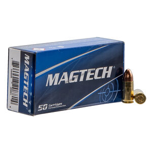 Magtech 9mm NATO Ammunition 50 Rounds 124 Grain Full Metal Jacket 1329fps