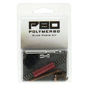 Polymer 80 PF-Series Slide Parts Kit GLOCK 9mm Gen1-4 Compatible Bronze/Red Finish