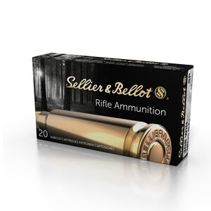 Sellier & Bellot .308 Winchester Ammunition 180 Grain Soft Point