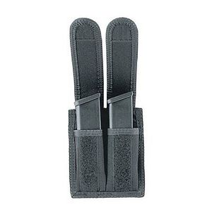 Uncle Mike's Universal Double Mag Pouch Nylon Cordura Black 88291
