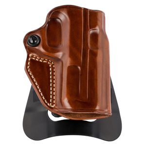 Galco Speed Master 2.0 Holster fits S&W M&P .380 Shield EZ Paddle and Belt Right Hand Leather/Polymer Tan