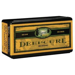 """.500 S&W Caliber 0.5"""" Diameter 350 Grain Soft Point Speer DeepCurl Handgun Bullets 50 Bullets per Box"""