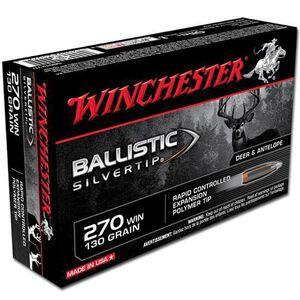 Winchester Supreme .270 Win 130 Grain Silvertip 20 Rnd Box