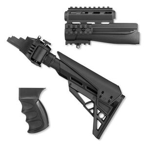 ATI Strikeforce AK-47 Tactlite Stock and Forend Package w/ Scorpion Recoil System, Black