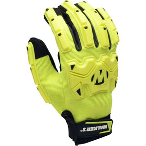 Walker's Impact Protection Gloves Yellow/Black X-Large