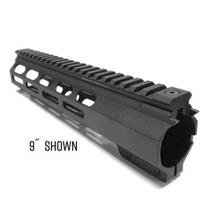 "Samson M-LOK SXT Series AR-15 Free Float Hand Guard 4"" Aluminum Black"
