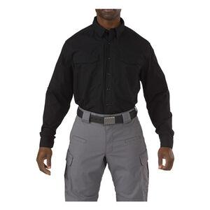 5.11 Tactical Stryke Long Sleeve Flex-Tac Shirt Small Regular Dark Navy 72399