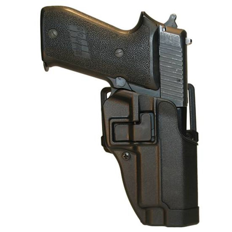 BLACKHAWK! SERPA CQC SIG Sauer P220, P226, P228, P229 Holster Left Hand Black Matte Finish 410506BK-L