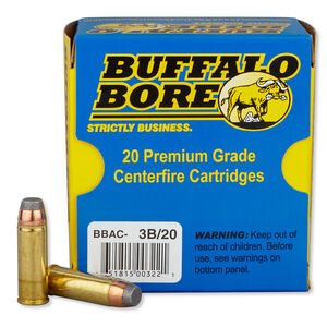 Buffalo Bore Heavy .45 Colt +P Ammunition 20 Rounds JFN 300 Grains 3B/20