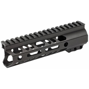 "2A Armament Builder Series AR-15 7"" Free Float Hand Guard Picatinny/M-LOK Aluminum Construction Hard Coat Anodized Matte Black Finish"