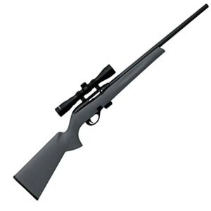 "Remington Model 597 Semi Auto Rifle .22 LR 20"" Barrel 10 Rounds Gray Synthetic Stock 3-9x32 Scope and Mounts Matte Black Finish 26513"