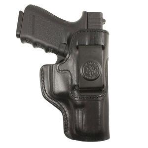 DeSantis Gunhide Inside Heat GLOCK 43 IWB Holster Right Hand Leather Black 127BA8BZ0
