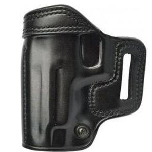 Galco Avenger GLOCK 17, 22, 31 Belt Holster Leather Left Hand Black AV225B