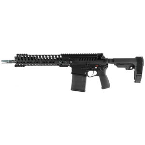 "POF USA Revolution .308 Winchester Semi Auto Pistol 12.5"" Barrel 20 Rounds Piston System M-LOK Free Float Rail SB Tactical Arm Brace Black Finish"