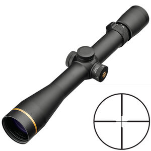 Leupold VX-5HD 4-20x52 Rifle Scope Non-Illuminated Duplex Reticle 34mm Tube .25 MOA Adjustment Second Focal Plane Side Parallax Adjustment Matte Black Finish