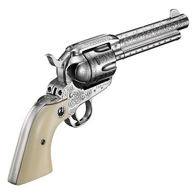 Ruger New Vaquero Engraved Cowboy Set Revolver,  45 Colt, 5-1/2'