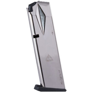 Mec-Gar Smith & Wesson 5900 Series/915/910/659 Extended Magazine 9mm Luger 20 Round Capacity Steel Tube Polymer Floor Plate Blued