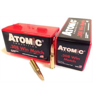 Atomic Ammunition .308 Win BTHP 175 Grain 50 Round Box