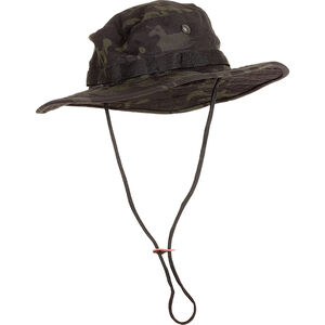 Voodoo Tactical Boonie Hat Cotton Ripstop Size 7.5 Black Multicam 20-6451072075