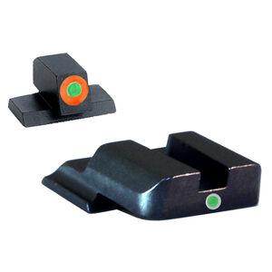 AmeriGlo S&W M&P Shield Pro i-dot Tritium Night Sights Steel