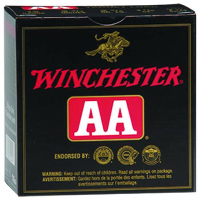 """Ammo 20 Gauge Winchester AA Target 2-3/4"""" #7.5 Lead 7/8 Ounce 25 Round Box 1300 fps AASC207"""