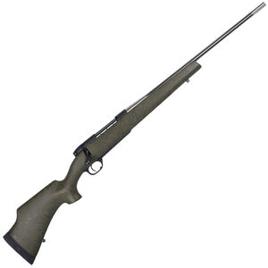 "Weatherby Mark V Camilla Ultra Lightweight .240 Wby Mag Bolt Action Rifle 24"" Fluted Barrel 5 Rounds Forest Green Composite Stock Stainless/Matte Black Finish"