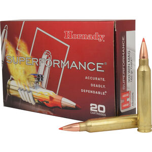 Hornady .300 Winchester Magnum Ammunition 20 Rounds GMX Lead Free 165 Grains