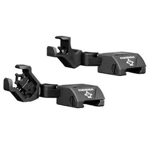 Diamondhead USA AR-15 D-45 Integrated Sighting System Swing Out Sight Set Black 1799