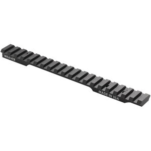 Weaver Tactical Extended Multi Slot Base with 20 MOA Savage 110/111/112 Aluminum Matte Black