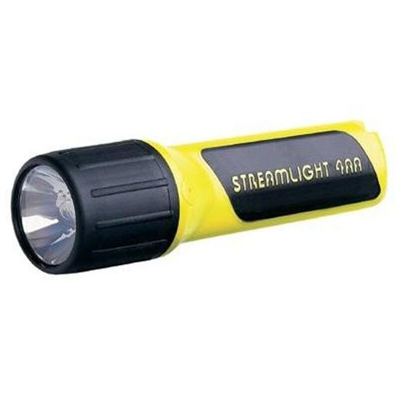 Streamlight ProPolymer 4 AA Xenon Flashlight 34 Lumens Black/Yellow 68254