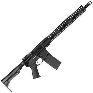 "CMMG Resolute 300 Mk4 .300 Blackout AR-15 Semi Auto Rifle 16"" Barrel 30 Rounds RML15 M-LOK Handguard RipStock Collapsible Stock Graphite Black Finish"