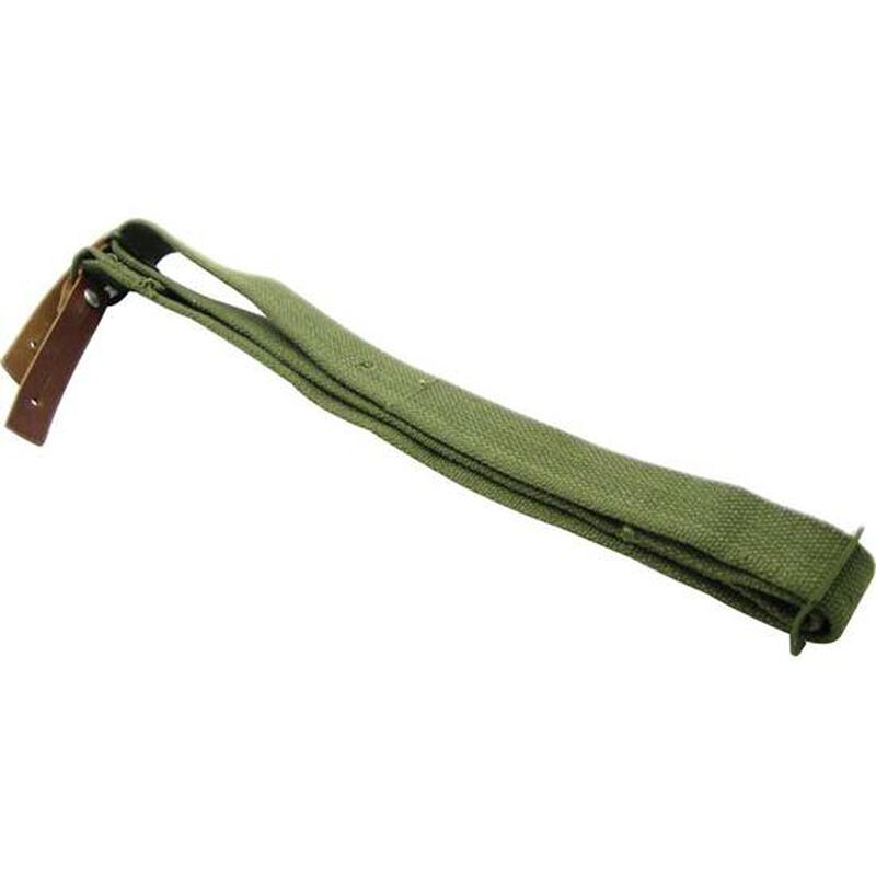 """NcSTAR AK/SKS OEM Style Replacement Sling Metal Hardware 42"""" Canvas Green"""