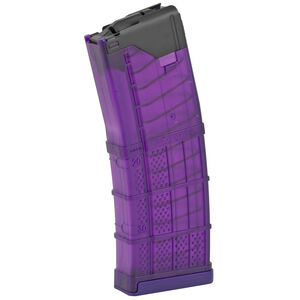 Lancer L5 Advanced Warfighter AR-15 Magazine .223 Rem 5.56 NATO 30 Rounds Polymer Translucent Purple 999-000-2320-01