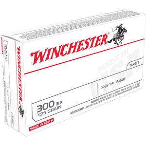 Winchester .300 Blackout Ammunition 200 Rounds FMJ 125 Grains