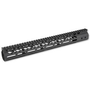 """GunTec AR-15 Freefloat Handguard 15"""" M-LOK Aluminum Black GT-15MLK"""