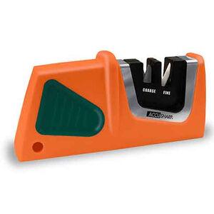 AccuSharp Compact Pull-Through Sharpener Orange and Green
