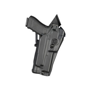 Safariland 6390 RDS ALS Mid-Ride Duty Belt Holster Fits GLOCK 17 MOS with Optic and Light STX Basket Black