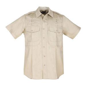 5.11 Tactical Men's PDU Class B Twill Shirt L Short Silver Tan