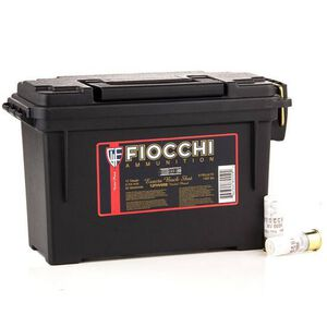 "Fiocchi Self Defense 12 Gauge Ammunition 80 Rounds 2-3/4"" 00 Buckshot Nickel Plated 12FHV00BK"