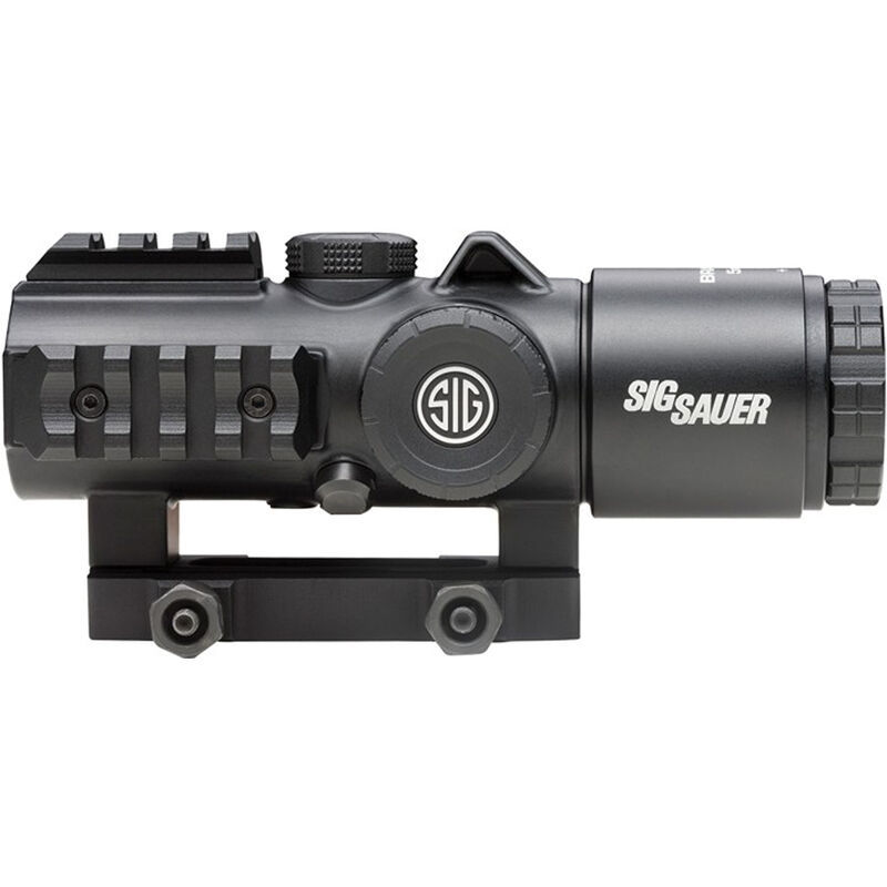 Sig Sauer Bravo 5 Red Dot Sight, 5x30mm, Magnesium, 5.56/7.62 Horseshoe Reticle, Picatinny Mount, Black Finish, CR2