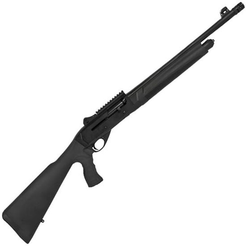 """Charles Daly CA612 Tactical 12 Gauge Semi Auto Shotgun 22"""" Barrel 3"""" Chamber 4 Rounds Pistol Grip Synthetic Stock Black"""